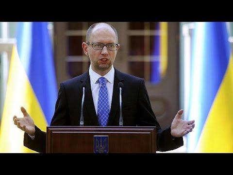 Ukrainian prime minister's triumphant speech after resignation rejected