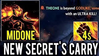 NEW CANCER BUILD 4s Sleight of Fist 50% HP Octarine Ember by NEW SECRET CARRY MidOne Dota 2