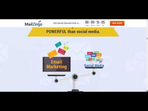 MailZingo Pro Plan Review and Bonus 75%Discount. http://bit.ly/2Pjbbqr