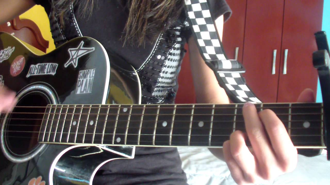Still Into You Paramore Guitar Cover With Chords Youtube