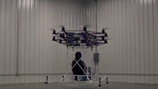 FLYT Aerospace's NEWEST Single Passenger Drone | 2016 thumbnail