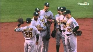 Video Fan injured by broken bat  MLBcom