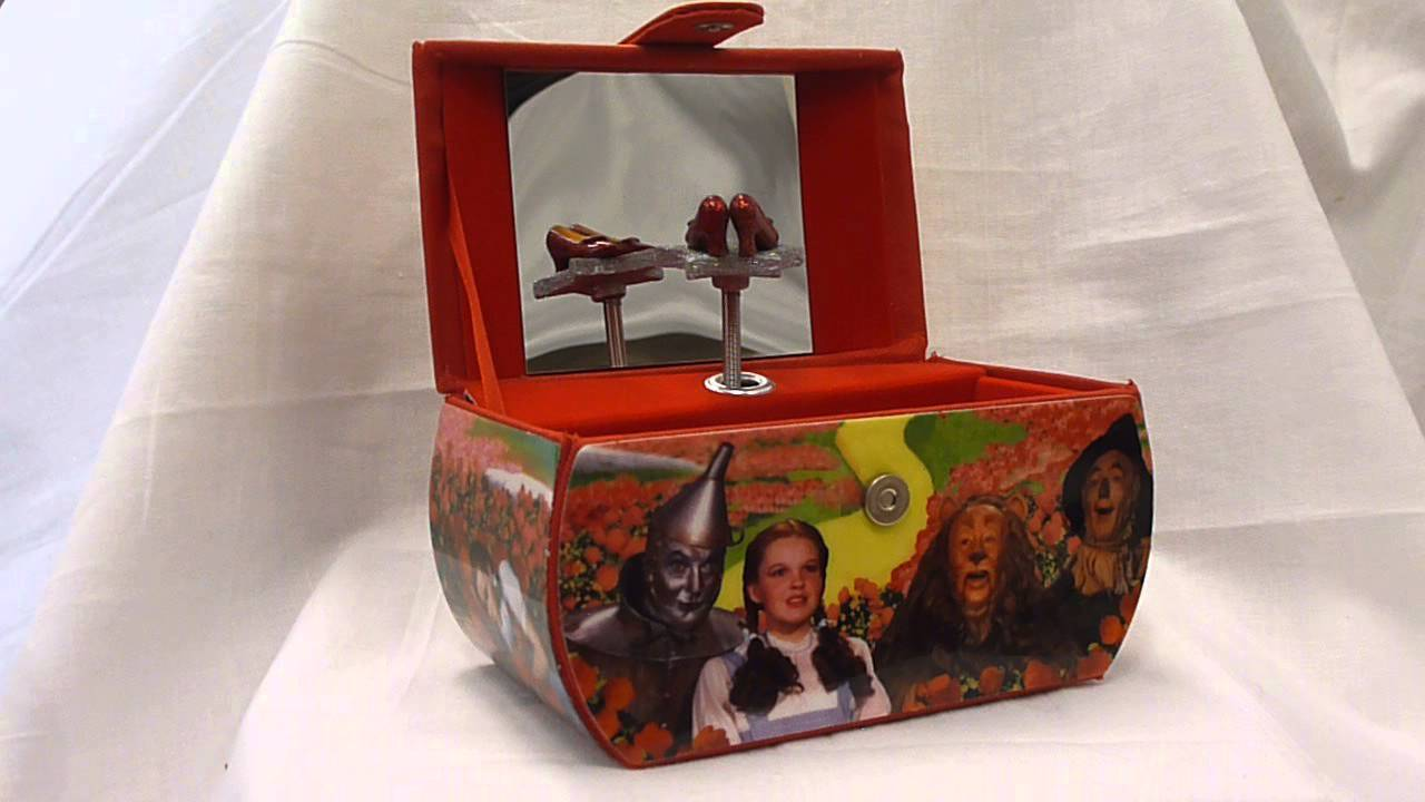 Wizard of Oz Musical Purse Jewelry Box YouTube