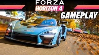 Forza Horizon 4 Gameplay German | Xbox ONE X 4K Gamescom Demo Deutsch