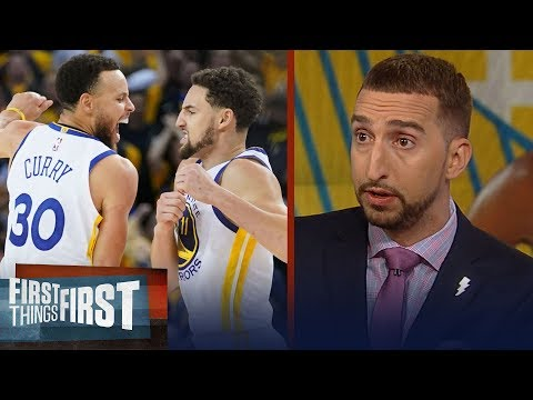 Warriors defeat Rockets in GM 5 despite KD's injury – Nick & Cris react | NBA | FIRST THINGS FIRST
