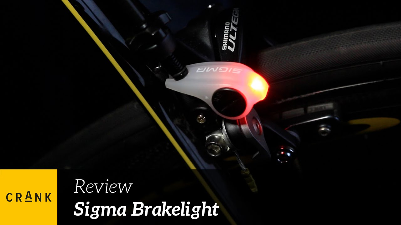 Crank Review - Sigma Brakelight - YouTube