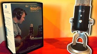 Blue Yeti Pro Studio Unboxing | High Resolution USB Microphone