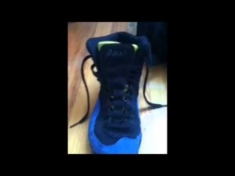 Customize Wrestling Shoes Tutorial