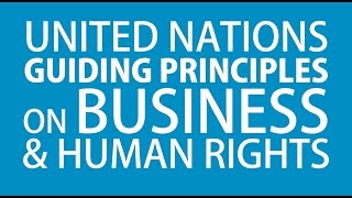 The UN Guiding Principles on Business and Human Rights: An Introduction