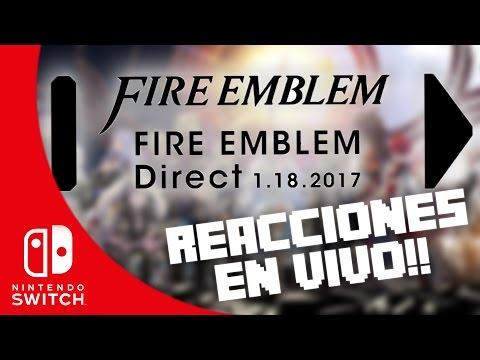 FIRE EMBLEM - NINTENDO DIRECT!!! | REACCIONES EN VIVO | 8BitCR