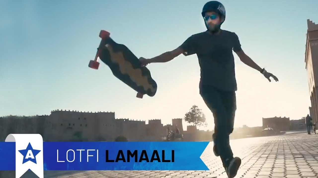 Lotfi Lamaali - Freestyle Longboarding | All Stars