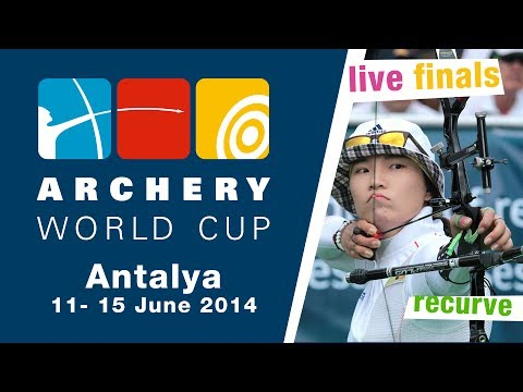 LIVE recurve individual finals -- Antalya 2014 Archery World Cup stage 3