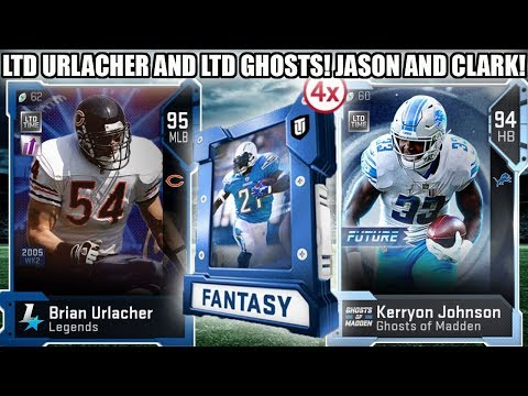 LIMITED TIME URLACHER, LTD GHOST JAIRE AND KERRYON! CLARK AND TAYLOR! | MADDEN 19 ULTIMATE TEAM