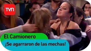 La Marce se agarrГі de las mechas  El Camionero  Buenos dГas a todos