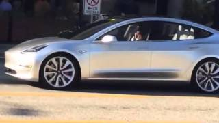 SPOTTED: Tesla Model 3 Driving On the Street