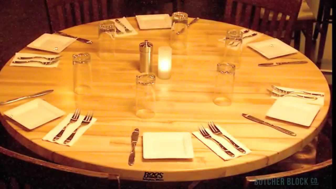 John Boos Dining Table Tops | Butcher Block Co.   YouTube