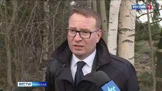 Специалисты Администрации Петрозаводска и депутат Александр Антипов встретились с жителями Ключевой