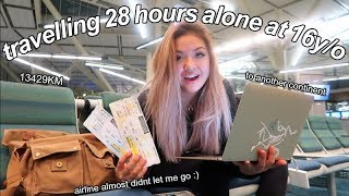traveling alone at 16... didnt get kidnapped :)