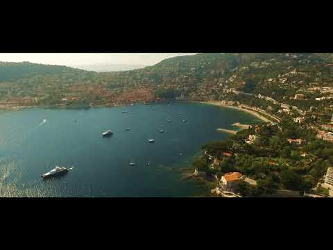 French Riviera  Drone Video