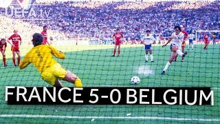 FRANCE brush BELGIUM aside en route to EURO 1984 victory