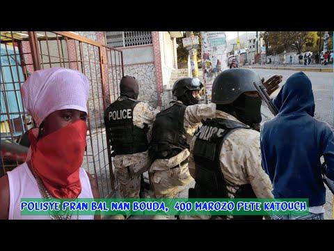 Lanmò100Jou Tire Plizyè Polisye Tande Vwa Polisye Yo Kap Kriye Anba Bal 400Marozo, Gè Kwadèboukè
