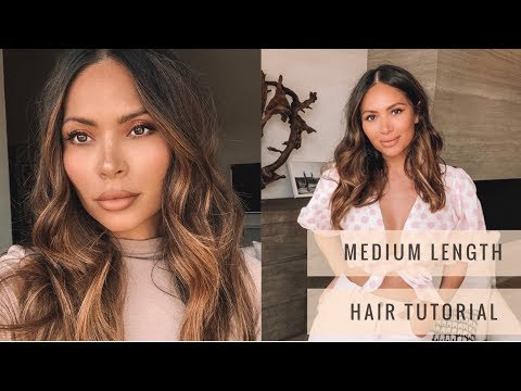 how-i-style-medium-length-hair-tutorial-|-marianna-hewitt