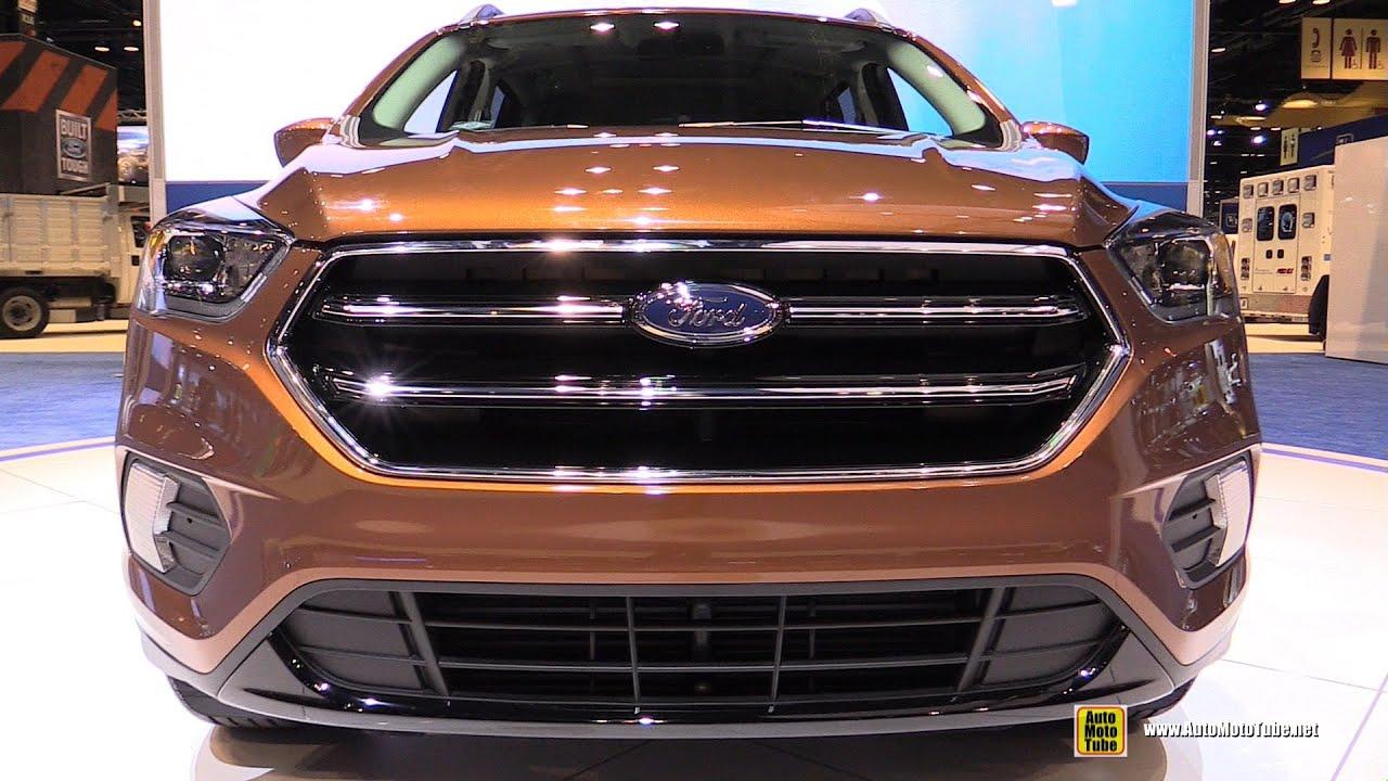 2017 ford escape se exterior and interior walkaround 2016 chicago auto show youtube. Black Bedroom Furniture Sets. Home Design Ideas