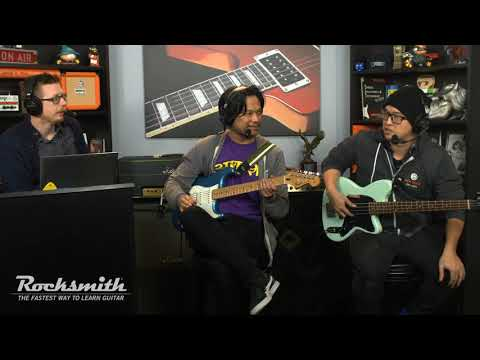 Rocksmith Remastered --Stevie Wonder Song Pack -- Live From Ubisoft Studio SF