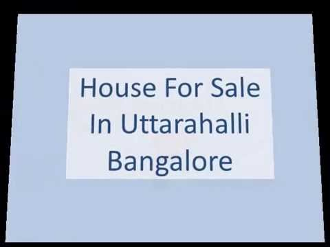 Houses For Sale In Uttarahalli Bangalore
