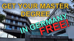 International Programmes. Masters in Germany. Tuition-free Education in Germany!