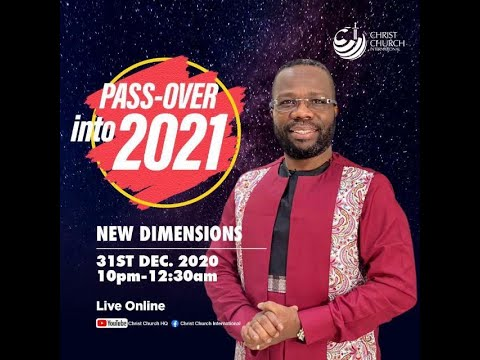 Led By The Holy Spirit | Bishop James Hansen-Sackey  | Pass-Over Into 2021 Online Service