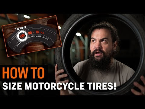 How To Size Motorcycle Tires