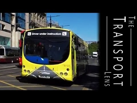 Lothian Buses in Edinburgh, May 2017 Part 3