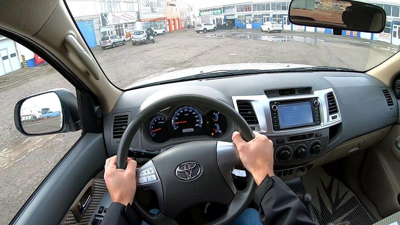 2013 TOYOTA FORTUNER SR5 PREMIUM 2.7 (163) POV TEST DRIVE