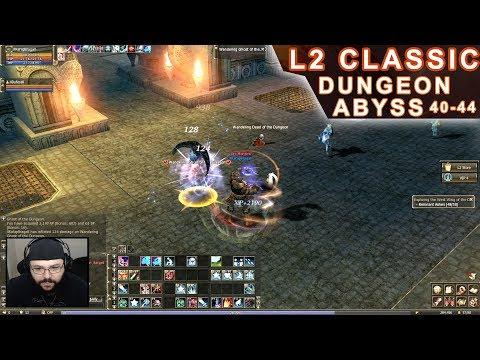 Lineage 2 Classic - Dungeon Lv. 40-44 em Aden (Arma Grade C, Spellbook, XP/SP, entre outros)