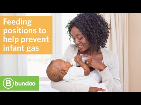 Feeding Positions To Help Prevent Infant Gas Youtube