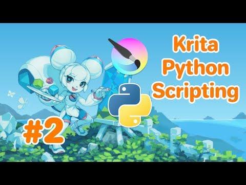 Krita Python Scripting Tutorial #2 - Python Plugins