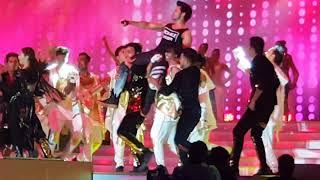 Alia Bhatt and Varun Dhawan Reliance Family day Event super dance performance