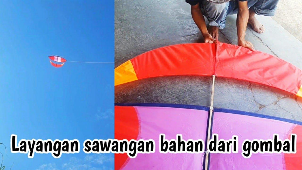 Making Kites Knocdown, Layangan Nanggalan bongkar pasang