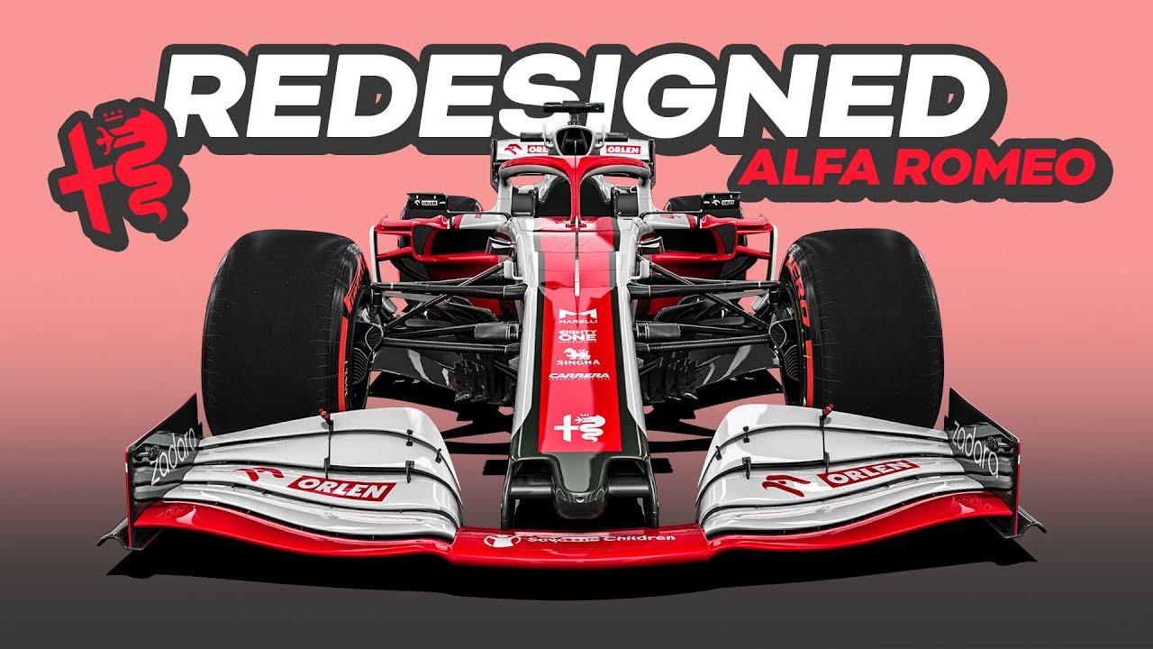 My REDESIGN of the 2021 Alfa Romeo Formula 1 Car