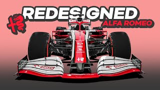 My REDESIGN of the 2021 Alfa Romeo Formula 1 Car
