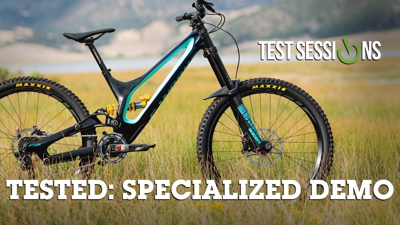 cba4dcd5ad6 Specialized Demo 8 REVIEW - Vital MTB DH Test Sessions - YouTube