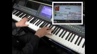 Batman Theme (Elfman) played live on Yamaha Clavinova CVP409 piano keyboard @ Tom Lee Music