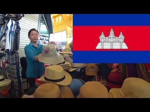 Central Market Phnom Penh – Kambodża 2018