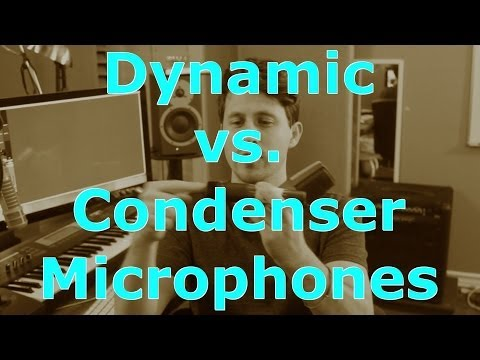 Condenser Microphone vs Dynamic Microphone