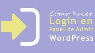 Cómo Hacer Login en Panel Admin de WordPress (Wp-Admin) Mp3