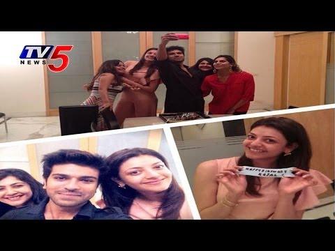Ram Charan & Upasana celebrates Kajal 28th Birthday : TV5 News