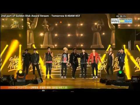 130119 27th GDA Super Junior: BonamanaOppa OppaSexy, FreeSingle Remix