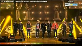 130119 27th GDA Super Junior: Bonamana  Oppa Oppa  Sexy, Free  Single Remix