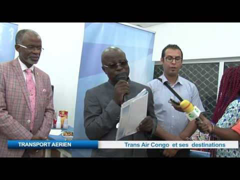 TRANSPORT AERIEN :Trans Air Congo et ses destinations